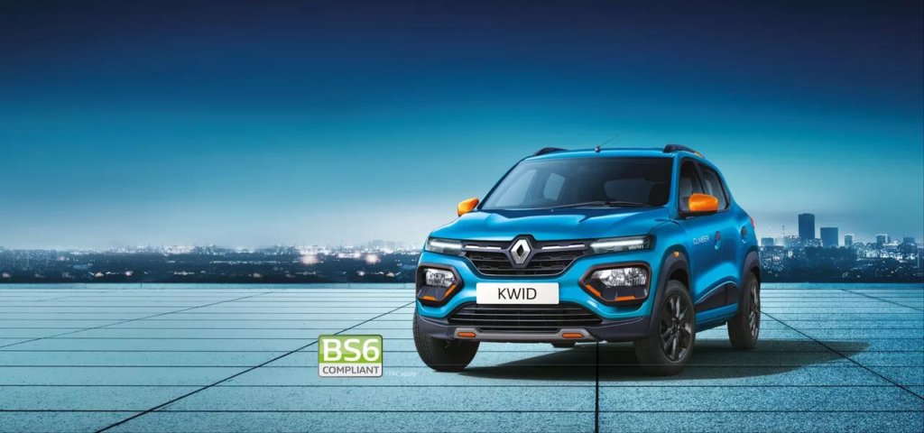 Kwid Climber on road price